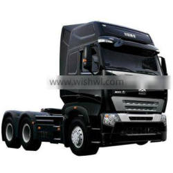 China Famous Best Quality Sinotruk HOWO 6X4 6X6 8X4 tractor truck with Comfortable cabin Heavy duty chassis Low price sale