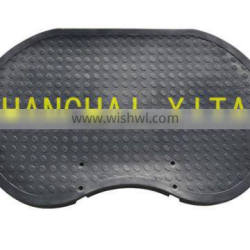 High abrasion performance anti slip high density rubber mat manufaccturers in China