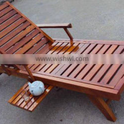 Outdoor sun loungers with tea table JL-WP231