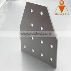 High quality machined aluminum parts, CNC machined aluminum products from shanghai factory