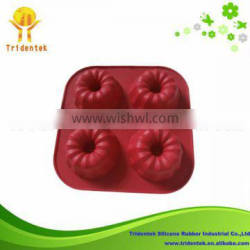 2014 New Products Eco-friendly Home Bakeware Cake Silicon Molds