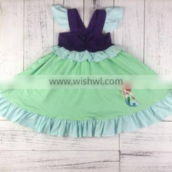 Factory price unique design well made little mermaid dress
