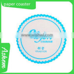 hot sale customized logo cup coaster with LOGO printing ,M-538