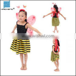 Party supply child Princess bee dress costume