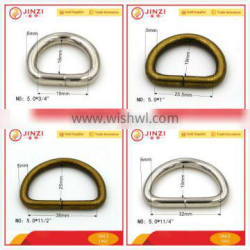 Iron Handbag Accessories Wire Formed D-Ring for Sale Quality Choice