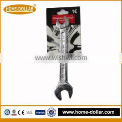 drop forged chrome plated combination wrench
