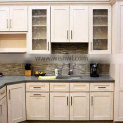 LB-JH1021 white color kitchen cabinet of commercial movable kitchen cabinets