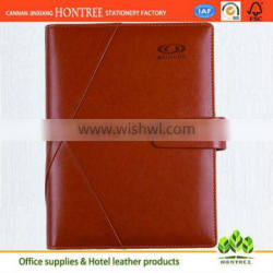 reasonable price A5 leather diary notebook engraved
