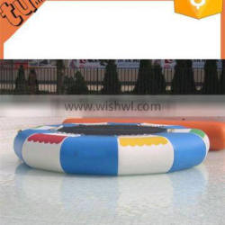 2015 the cheap and good quality inflatable water jumping bed / inflatable trampoline for sale