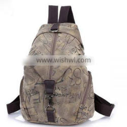 2014 new and hot men backpack fashion canvas backpack bags