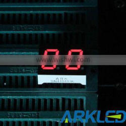 0.40 Inch Two Digits 7 Segment LED Display Red Color