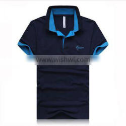 95/5 Cotton/Spandex Stretch Factory Direct Wholesale T-Shirt Sample Design of Polo Shirts