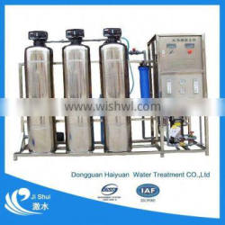 Iron filter for well water filtration system