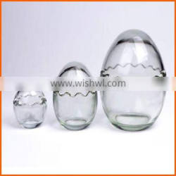 High quality factory price candle glass containers