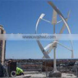 grid wind turbins Vertical axis wind turbine battery charge system Sunlaite
