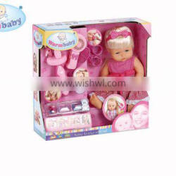 fashion baby doll with beauty hair tools