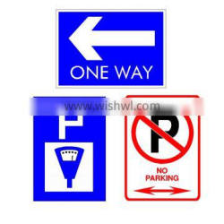 road traffic metal signs , packing/no parking sign board,arrow sign