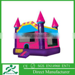 giant inflatable bounce castle house with blower