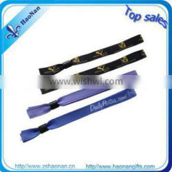 2013 TOP SALE embroidered fabric bracelets