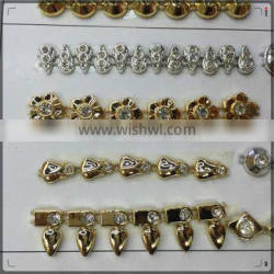 2016 New Model Decorative Gold Chain.ABS Plastic Chain For Clothes And Shoes.dubai gold chains