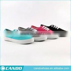 casual style high quality canvas shose, women big size canvas shoes,lace up vulcanized shoes