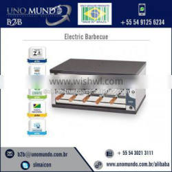 Horizontal Design Best Grade Gas/ Electric Barbecue for Sale