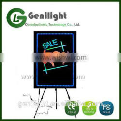 New Invention 2016 Best Sell 60*40cm Acrylic Led Writing Board
