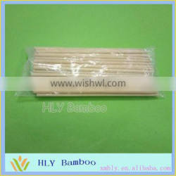 Disposable party round bamboo sticks wholesale