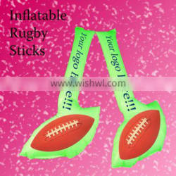 Inflatable stick