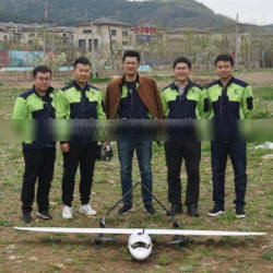 2018 Best Performance VTOL Unmanned Aerial Vehicle Security Surveillance Drone Monitoring UAV