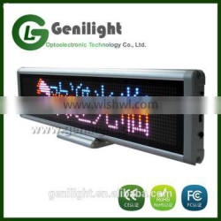 Hot Products Programmable RBP Color Desk Led display for advertising