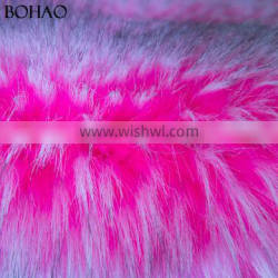 100% Acrylic Thick Garment Use Textile Artificial Thick Knitted Fur Fabric