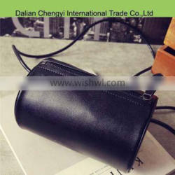 Standard size fashionable simple style pu bucket bag for ladies Quality Choice