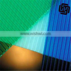 PC HOLLOW SHEET PRODUCTION LINE , POLYCARBONATE ROOFING PANEL MAKING MACHINE