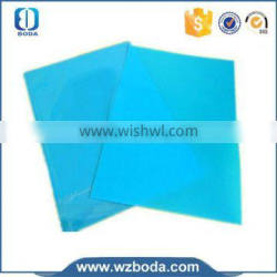perfect shining book binding paper,pastic sheet with PVC A4 size
