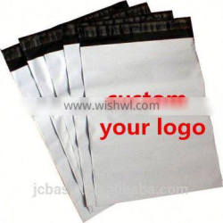 Cheap self adhesive white coex flat poly Shipping bags