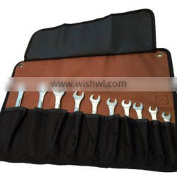 10 pocket wrench roll up tool bag perfect for keeping a set of tools