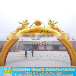 Advertising decorative outdoor inflatable arch