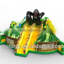 inflatable slide combo, china inflatable bouncy castle