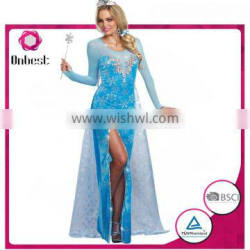 New style frozen princess anna costume cosplay for adult frozen anna costume adult