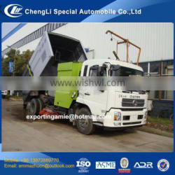 chengli sale cheapest price new 4x2 hydraulic road sweeper with good quality