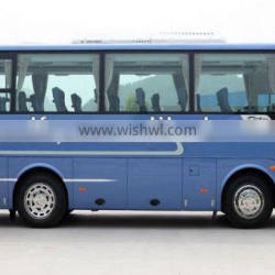 China medium-sized lowest price dongfeng bus,40seats,rear engined