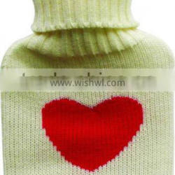 Factory Supply Directly Knitted Hot Water Bottle Cover