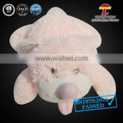 cheap small hot water bag with animal cover racoon