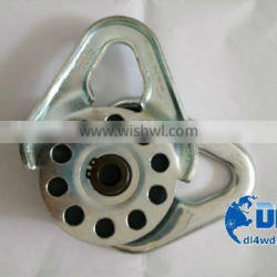 4wd parts snatch pulley block 4x4 stainless steel snatch blocks