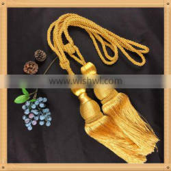 curtain tie back hooks in rope