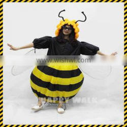 HI CE inflatable costume fan for sale lifelike bumble bee costume for adult