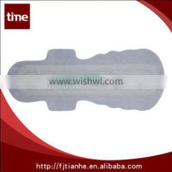 Quality Disposable Soft Cotton Comfortable and Breathable Ultra Thin Anion Lady Sanitary Napkin /Sanitary Pad