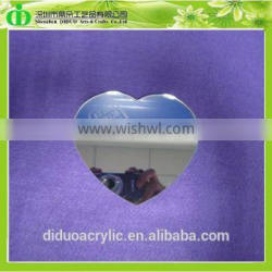DDM-I006 Trade Assurance Chinese Factory Wholesale Heart Acrylic Mirror