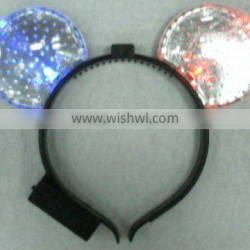 light up headgear with 2 leds